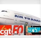 airfrance cgt fo unsa
