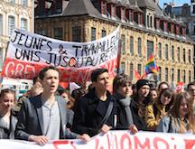 Manif Lille jeunes 28 avril 2016