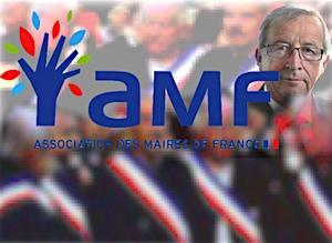 AMF congrès inauguré par Juncker