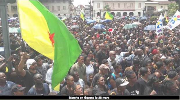 Guyane marche