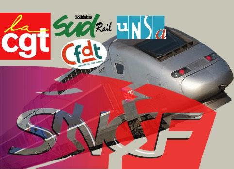 15 mars 2018 – L'intersyndicale CGT-Unsa-Sud-CFDT de la SNCF a annoncé jeudi une grève sur le rythme de « deux jours sur cinq », à partir du mardi 3 avril et jusqu'au jeudi 28 juin, pour protester contre la réforme en cours de l'entreprise.
