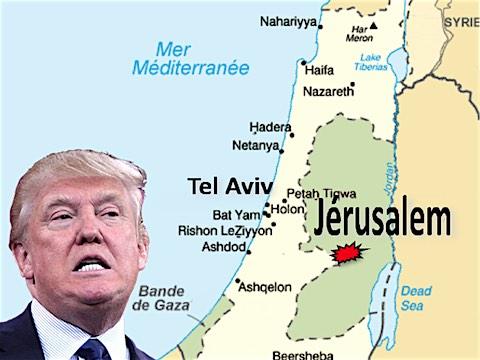 23 février 2018 – Après avoir annoncé en décembre le transfert de l'ambassade américaine de Tel Aviv à Jérusalem, Trump veut aller encore plus vite et ouvrir sa nouvelle ambassade le 14 mai 2018. Il confirme sa volonté de reconnaître Jérusalem comme la capitale de l'Etat d'Israël, le jour du 70e anniversaire de la proclamation de son indépendance.