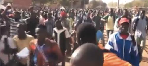 Manif Ouagadoudou