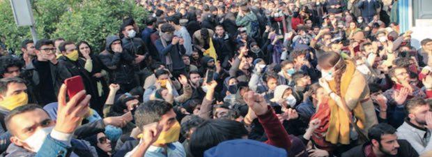 Iran université Téhéran 30 dec 2017