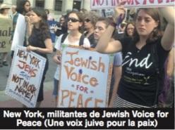 Une voix juive pour la paix