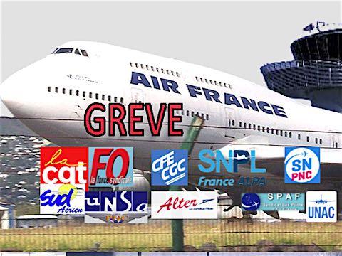 15 mars 2018 – Après celle décidée pour le 23 mars, onze syndicats d'Air France, tous métiers confondus, appellent  à une troisième grève en un mois, le 30 mars, pour exiger de nouveau une augmentation générale des salaires de 6%.