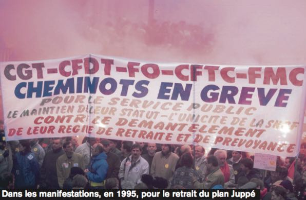Cheminots 95