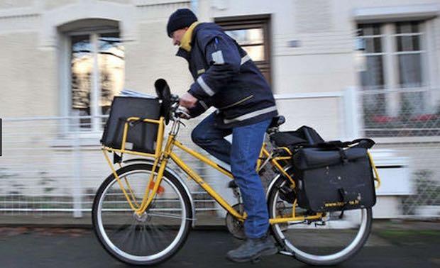 Facteur vélo