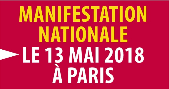 Manifestation nationale le 13 mai