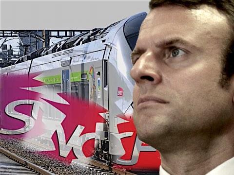 """24 février 2018 – Macron choisit le Salon de l'agriculture, à Paris, pour s'attaquer au statut des cheminots. «<i>Je ne peux pas, </i>dit-il<i>, avoir d'un côté des agriculteurs qui n'ont pas de jours fériés, etc., qui n'auront parfois pas de retraite et dire """"le statut des cheminots, il ne faut pas le changer"""".</i>»"""