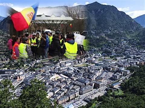 16 mars 2018 – Andorre : deuxième jour de grève  pour obtenir le retrait d'une réforme de la Fonction publique sur le point d'être présentée au parlement qui a notamment pour objet d'introduire une rémunération au mérite. 600 à 700 fonctionnaires, sur près des 3.000 que compte la principauté, défilent dans la capitale, Andorre-la-Vieille. C'est la première grève à Andorre depuis 85 ans.