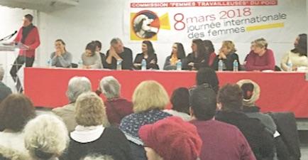 """<b>FEMMES TRAVAILLEUSES</b> <i>""""Une première étape dans la défense de nos droits""""</i>"""