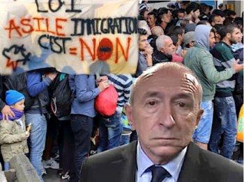 """Résultat de recherche d'images pour """"collomb manifestants"""""""