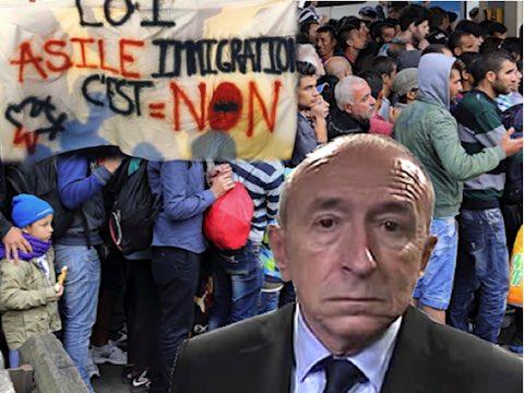 Loi asile immigration Collomb