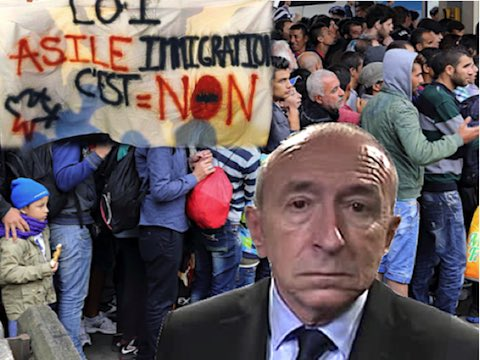 Loi asile immigration Collomb