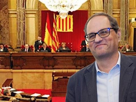19 mai 2018 – Torra, nouveau président de la Catalogne, nomme deux prisonniers et deux exilés au gouvernement. L'État espagnol, qui a décidé d'exercer sa tutelle dès la proclamation de la République catalane et s'était opposé à l'accession de l'exilé Puigdemont à la présidence, avait prévenu qu'il s'opposerait à la désignation d'exilés et de prisonniers.