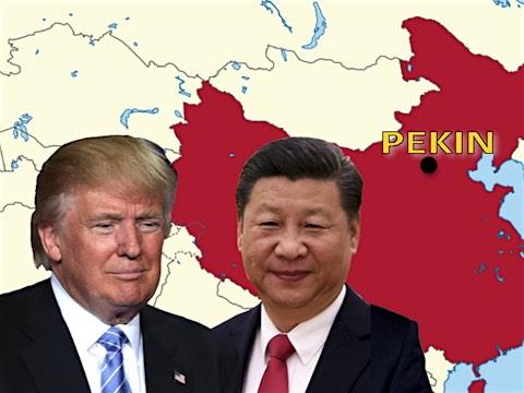 20 mai 2018 – Pékin annonce que la Chine et les États-Unis d'Amérique ont décidé de renoncer à toute guerre commerciale et à l'augmentation des droits de douane respectifs. Cette déclaration intervient après des mois de tensions entre les deux pays, Trump dénonçant une relation commerciale déséquilibrée, un danger pour les États-Unis.