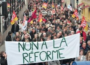 TT138Non à la réforme des retraites