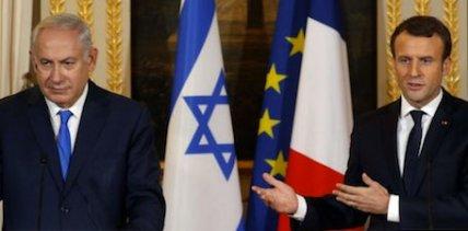 Netanyahou macron 2