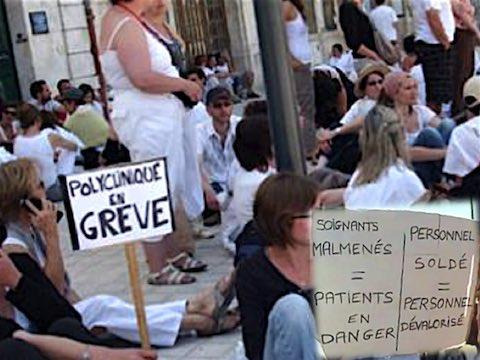 21 juin 2018 – Grève d'une centaine de salariés de la polyclinique de Poitiers à l'appel de FO et de la CGT. Ils expliquent dans un tract : nous voulons « <em>défendre notre qualité de soins  (…) et  dénoncer la stratégie du groupe concernant les questions salariales</em> ».