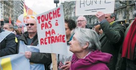 <b>LA CAMPAGNE</b> <em>Macron-Philippe, ne touchez pas à nos retraites !</em>